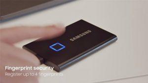 Samsung Keluarkan SSD Eksternal Dengan Fitur Biometrik