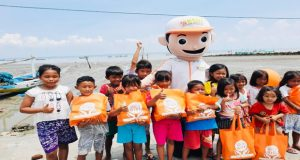 Beri Perhatian Balita, Anak dan Warga Dhuafa, BMH Salurkan Bantuan 5.000 Lebih Paket Gizi