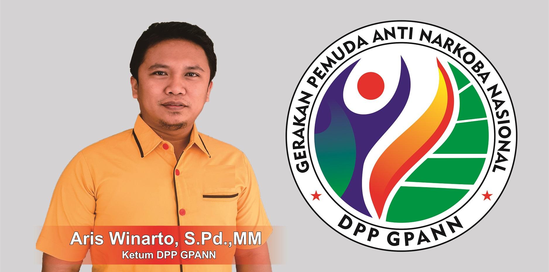 Aris Winarto, Ketua DPP Gerakan Pemuda Anti Narkoba Nasional (GPANN)