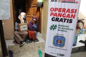 Operasi Pangan Gratis Untuk Warga Rentan Miskin Di Surabaya