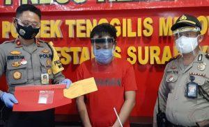 Edarkan Sabu-Sabu, Tukang Ojol di Surabaya Ditangkap