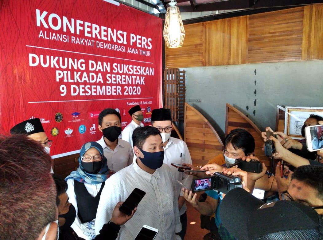 Deklarasi Oleh OKP Se Jawa Timur Dukung Pemilukada Serentak 2020