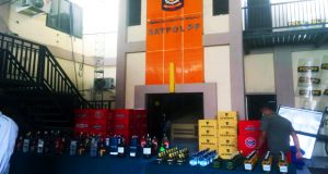 Satpol – PP Sidoarjo Amankan Lebih Dari 2.500 Botol Minuman Keras