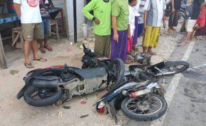 Kecelakaan Motor di Kapedi Sumenep, Satu Pengemudi Meninggal Dunia