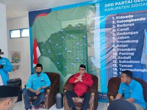 Memiliki Visi dan Misi yang sama, Partai Gelora beri rekomendasi pada Kelana Aprilianto dan Dwi Astutik