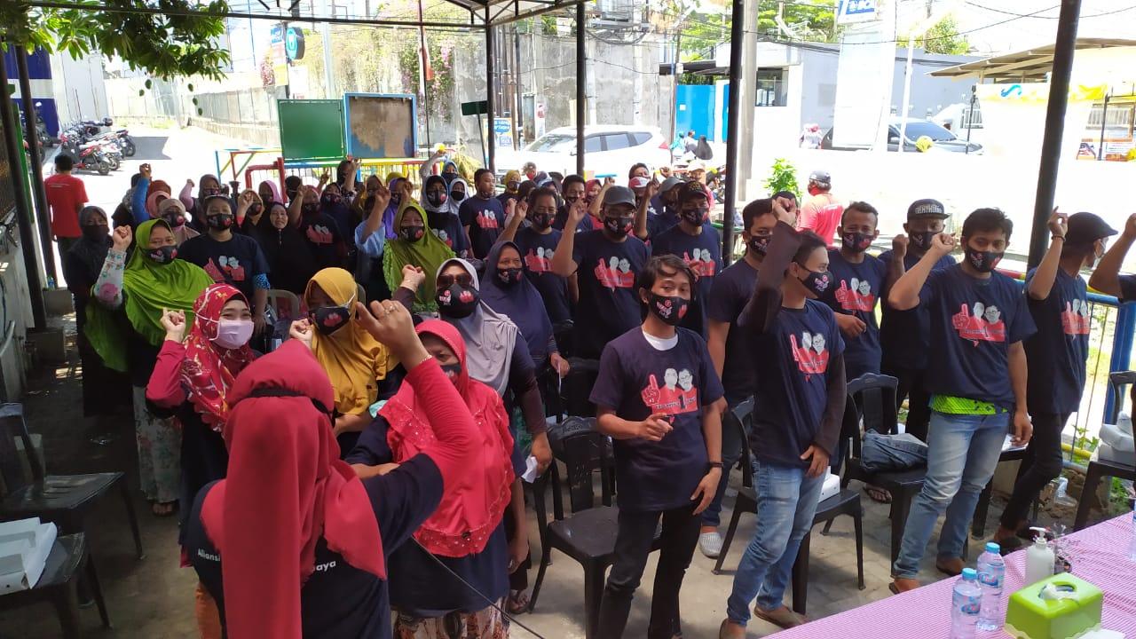 Warga Sambikerep Sekitaran Kawasan Elit Pakuwon Siap untuk Memenangkan Eri - Armudji