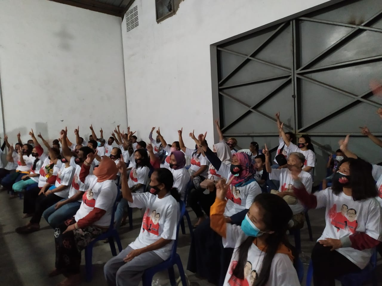 Aliansi Kebangsaan Surabaya bersama Masyarakat Lintas Etnis Surabaya komitmen memenangkan Pasangan No 1 Eri - Armudji